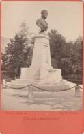 Austria - Salzkammergut - Bad Ischl Wirer Denkmal - Photo - 65x110mm - Oud (voor 1900)