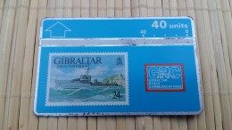 Gibraltar Phonecard Used Rare - Gibraltar
