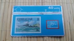 Gibraltar Phonecard Used Rare