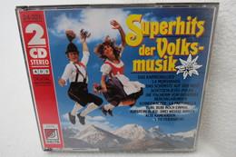 """2 CDs """"Superhits Der Volksmusik"""" - Hit-Compilations"""