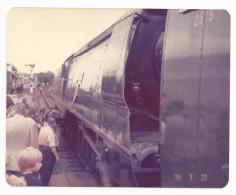 Original Photo Train Bulleid PACIFIC 21C123 - Gares - Avec Trains