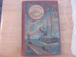 Jules Verne Hetzel Steamer Voyages Extraordinaires Clovis Dardentor Magnier Fils 1896 Cat O Dedicace Imprimé Autographe - Livres, BD, Revues