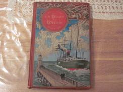 Jules Verne Hetzel Steamer Voyages Extraordinaires 1886 Un Billet De Loterie Frritt Flacc - Livres, BD, Revues