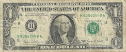 1  DOLLARO -- 1969--  SERIE H93562448A - Unclassified