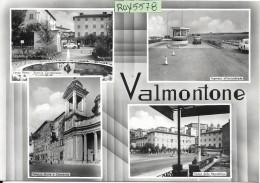 Lazio-roma-valmontone Vedute Valmontone Anni 50/60 - Italia