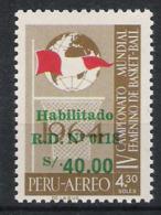 Peru 1979 Mi# 1131 ** MNH Sport Basketball - Basketball