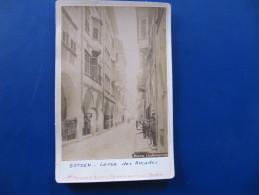 Photo - BOLZANO - BOTZEN - LA RUE DES ARCADES -  Format : 16 X 11 Cm    (no Postcard) - Bolzano (Bozen)