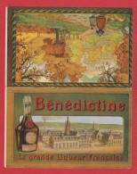 Menu  -- Bénédictine --  La Grande Liqueur Francaise - Menus
