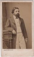 CDV Photo Originale XIX ème Homme Par Bayard Bervall   Cdv1056 - Old (before 1900)