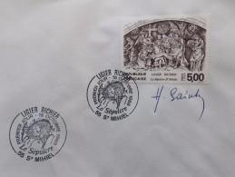 SERIE ARTISTIQUE - PIERRE RICHIER - Le Sépulcre St-Michel  - N° 2553 - Cachet Rond Premier Jour 1988 - Signé - Gebraucht