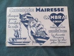 Buvard Chicorée Mairesse   Cambrai - Alimentaire