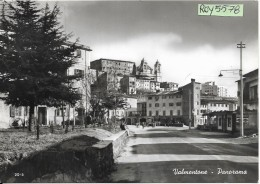 Lazio-roma-valmontone-veduta Panoramica Animata Strada Interno Valmontone Anni 50/60 - Italia