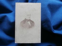 Photo CDV T. Cognacq à La Rochelle -  Portrait Homme, Notable, Bourgeoisie Second Empire Circa 1860 L276 - Photographs
