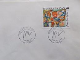 BRAM VAN VELDE   N° 2473.  Cachet Rond Premier Jour 1987 . PARIS - Used Stamps