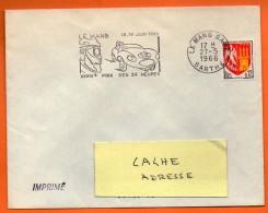 LE MANS   XXXIV° PRIX DES 24 HEURES    27 / 5 / 1966 Lettre Entière N° BB 313 - Annullamenti Meccanici (pubblicitari)