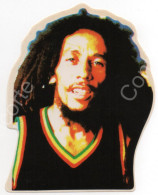 BOB MARLEY JAMAICA - ADESIVO ETICHETTA ORIGINALE NUOVA, ANNI 80 / 90 - Musica & Strumenti