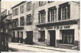 VILLEFRANCHE DE ROUERGUE HOTEL TERMINUS CPSM PF BE AVEC NOTE AU DOS - Villefranche De Rouergue