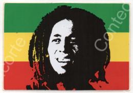 BOB MARLEY JAMAICA BANDIERA - ADESIVO ETICHETTA ORIGINALE NUOVA, ANNI 80 / 90 - Musica & Strumenti