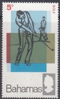 Bahamas 1968: Michel-No. 277 ** MNH (aus Satz 277-280) Golf