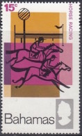 Bahamas 1968: Michel-No. 279 ** MNH (aus Satz 277-280) Pferderennen - Horse Racing - Hippisme