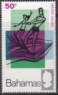 Bahamas 1968: Michel-No. 280 ** MNH (aus Satz 277-280) Wasserski - Water Skiing - Water-skiing