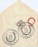 LCIRC7 -BRESIL EP ENVELOPPE + TPM OBLIT. COMMEMORATIVE 31/5/1946 - Entiers Postaux