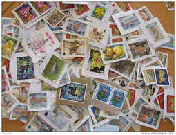 LOT 500 GRAMMES TIMBRES COLLECTION ILES BRITANNIQUES  JERSEY - Briefmarken