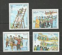 Laos N°1182 à 1185 Neufs** Cote 5.65 Euros - Laos