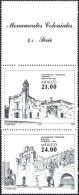 """Mexico 1983: Michel-Nr. 1885-88 (4 Werte+ZF) ** MNH """"Architektur"""" Kirchen & Klöster - Klöster"""