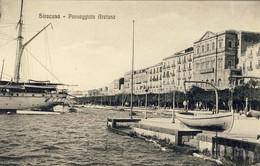 ITALIE, SIRACUSA, Passeggiata Aretusa, 2 Scans - Siracusa