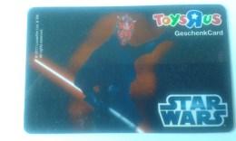 GIFT CARD - AUSTRIA - TOYSRUS 14. - STAR WARS - Cartes Cadeaux