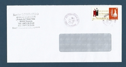 NOUVELLE CALEDONIE (New Caledonia) - 2012 Enveloppe Avec Timbre Personnalisé Privé (TPP) - Avocats Du Barreau De Nouméa - Briefe U. Dokumente