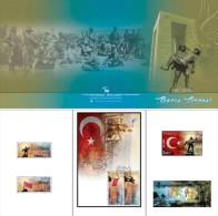 AC - TURKEY PORTFOLIO - PEACE SUMMIT CENTENARY OF GALLIPOLI WAR SPECIAL NUMBERED IMP. S/S MNH 23 APRIL 2015 - Blocks & Kleinbögen