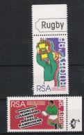 Süd Afrika Soth Africa 1995 Mi# 960-61 ** MNH Sport Rugby - Rugby