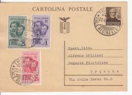 1945 Intero Postale - 4. 1944-45 Repubblica Sociale