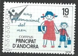 """Andorre Esp. YT 118 """" Année De L´Enfant """" 1979 Neuf** - Neufs"""