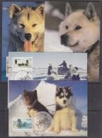 AAT 1994 The Last Huskies 4v 4 Maxicards  (32712) - Maximumkaarten