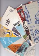 LIEGE   9 :  Dépliants Touritiques +  Cartes - Dépliants Touristiques