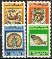 LIBIA - 1976 - MOSAICI ANTICHI - NUOVI MNH - Libya