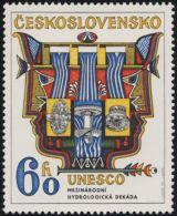 Czechoslovakia / Stamps (1974) 2077: International Hydrological Decade (UNESCO) 60 H; Painter: Josef Liesler