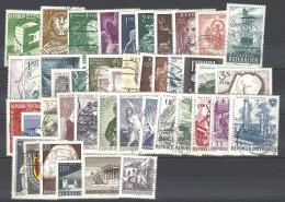 Jahrgänge 1959, 1960, 1961 Gestempelt - Österreich