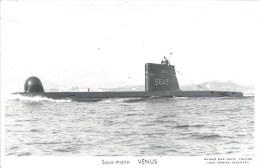 SOUS MARIN VENUS PHOTOGRAPHE TOULON MARIUS BAR NAVIRE DE GUERRE  PAQUEBOT BOAT TRANSPORT BATEAU - Sous-marins