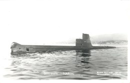 SOUS MARIN NARVAL PHOTOGRAPHE TOULON MARIUS BAR NAVIRE DE GUERRE  PAQUEBOT BOAT TRANSPORT BATEAU - Sous-marins