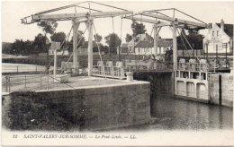 SAINT VALERY SUR SOMME - Le Pont Levis  (92063) - Saint Valery Sur Somme