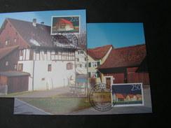 Lichtenstein 2004  , Ortsbilder , 1355-1356 Postpreis SFR 4,70  Michel  € 6,50     MK 231