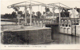 SAINT VALERY SUR SOMME - Le Port - Voiliers   (92064) - Saint Valery Sur Somme