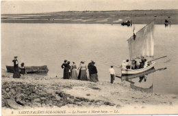 SAINT VALERY SUR SOMME - Le Passeur A Marée Basse   (92068) - Saint Valery Sur Somme