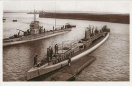 SOUS MARIN BRUMAIRE MARINE NAVIRE DE GUERRE CUIRASSE CROISEUR TORPILLEUR  PAQUEBOT BOAT TRANSPORT BATEAU - Submarines