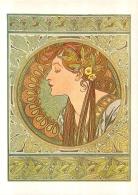 ALPHONSE MUCHA REPRO  LE LAURIER  1901 BOOKKING INTERNATIONAL - Mucha, Alphonse