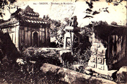 COCHINCHINE - SAIGON / SAIGON / TOMBEAU DE MANDARIN - Viêt-Nam